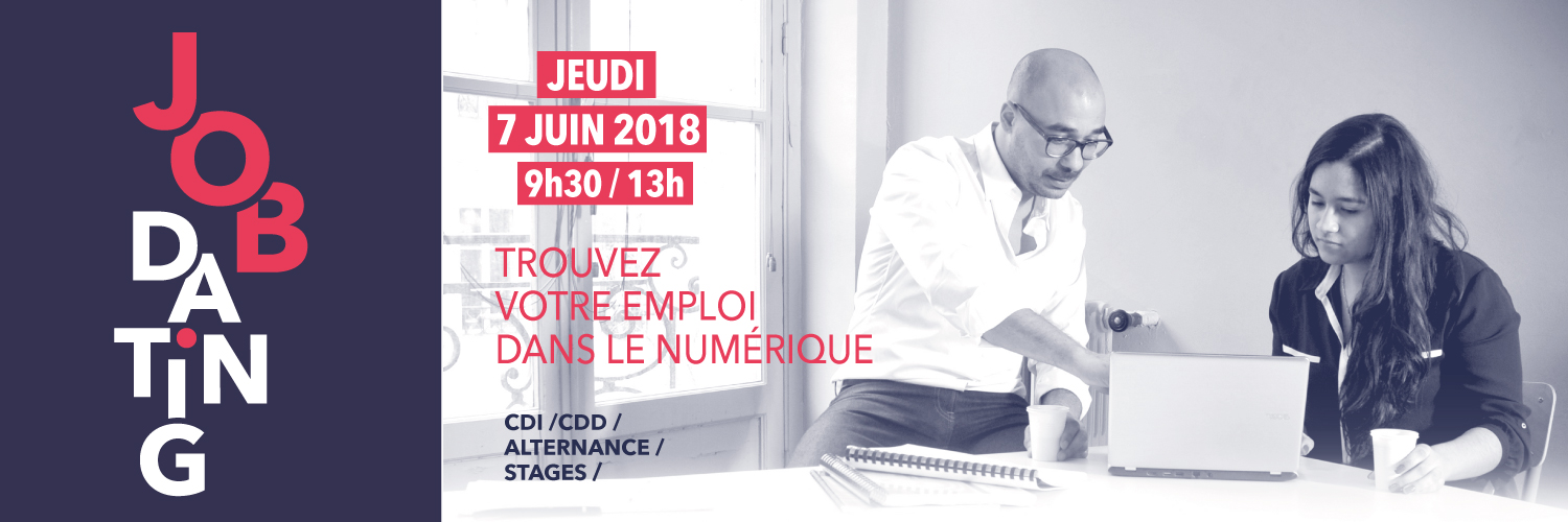 Job Dating, forum de l'emploi à L'Ecole Multimédia